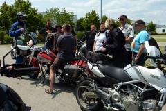 Motorrad Testfahrt Juli 2013