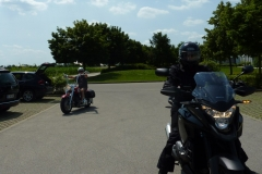 Motorrad Testfahrt Juli 20132